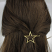 Star Hair Clip on Model