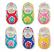 Enamel/Rhinestone Baby Shoe Tack Pin
