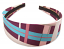 Colorful Plaid Striped Headband