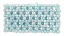 96 pcs Turquoise Bead Net Mosaic Elastic Bracelet