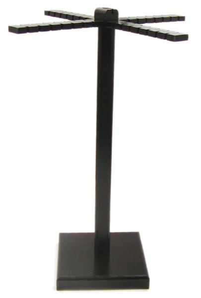 Black Acrylic Spinning Windmill Display