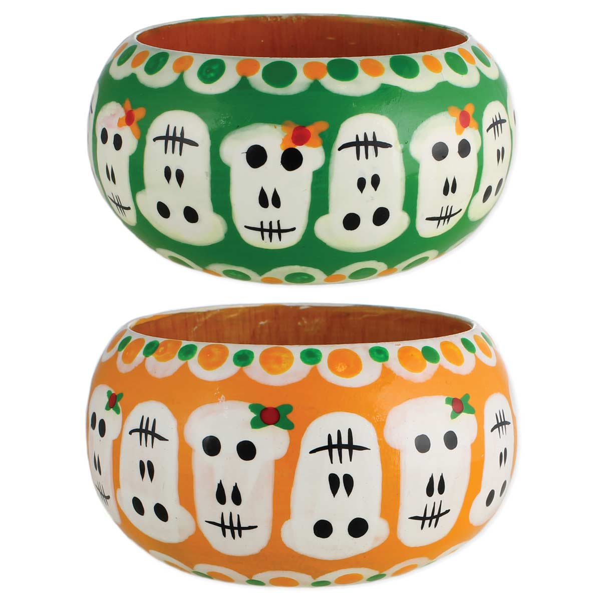 PAINTed Calavera Skull Bangle