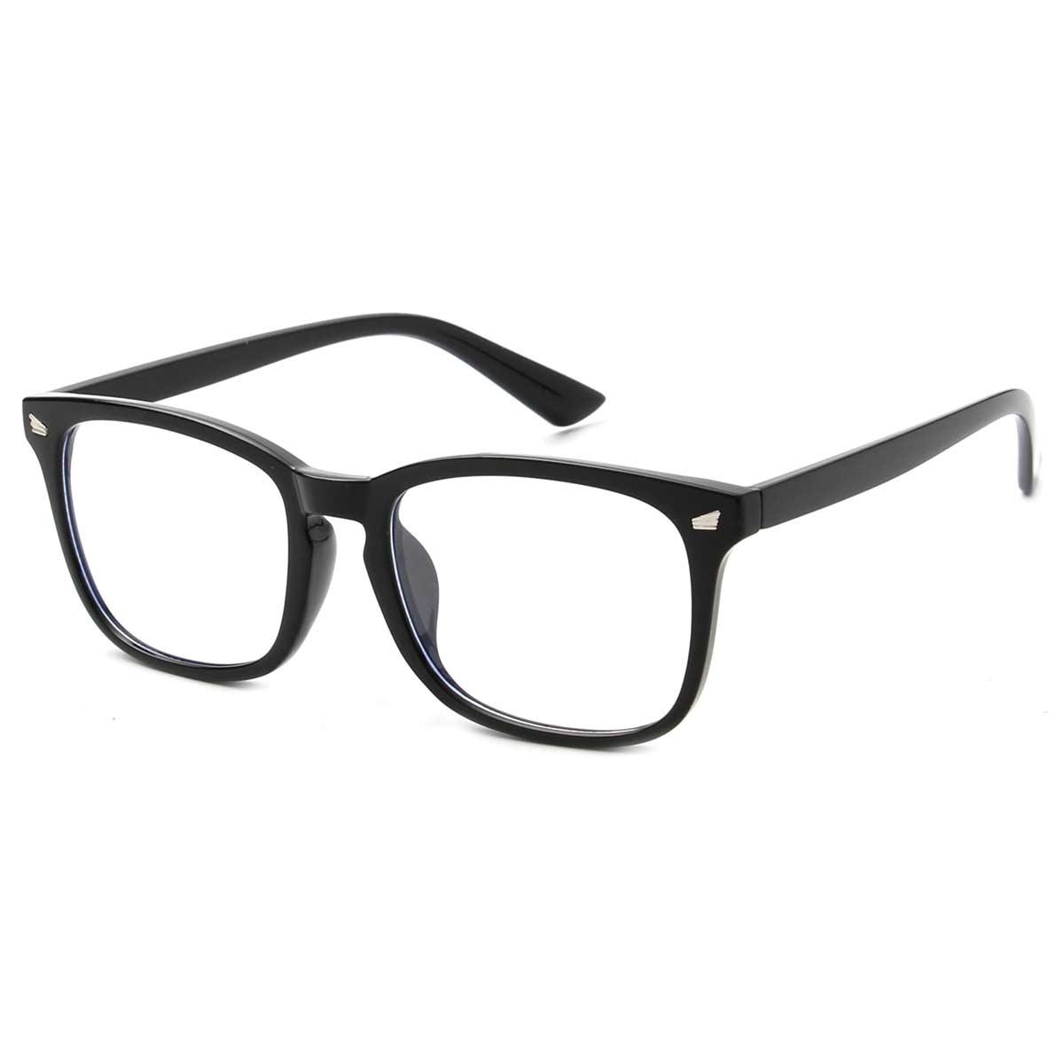 Black Frame Blue Light Blocking Glasses