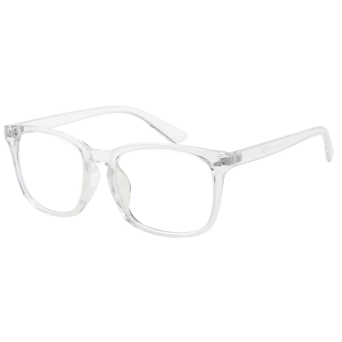 Clear Frame Blue Light Blocking Glasses