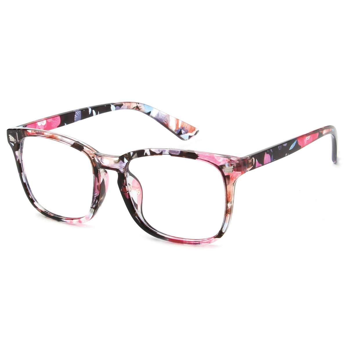 Multi Color Frame Blue Light Blocking Glasses