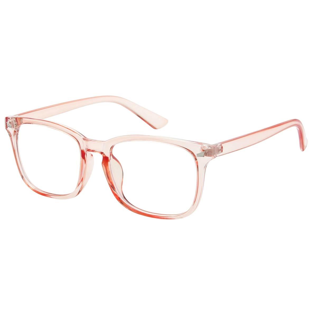 Orange Frame Blue Light Blocking Glasses