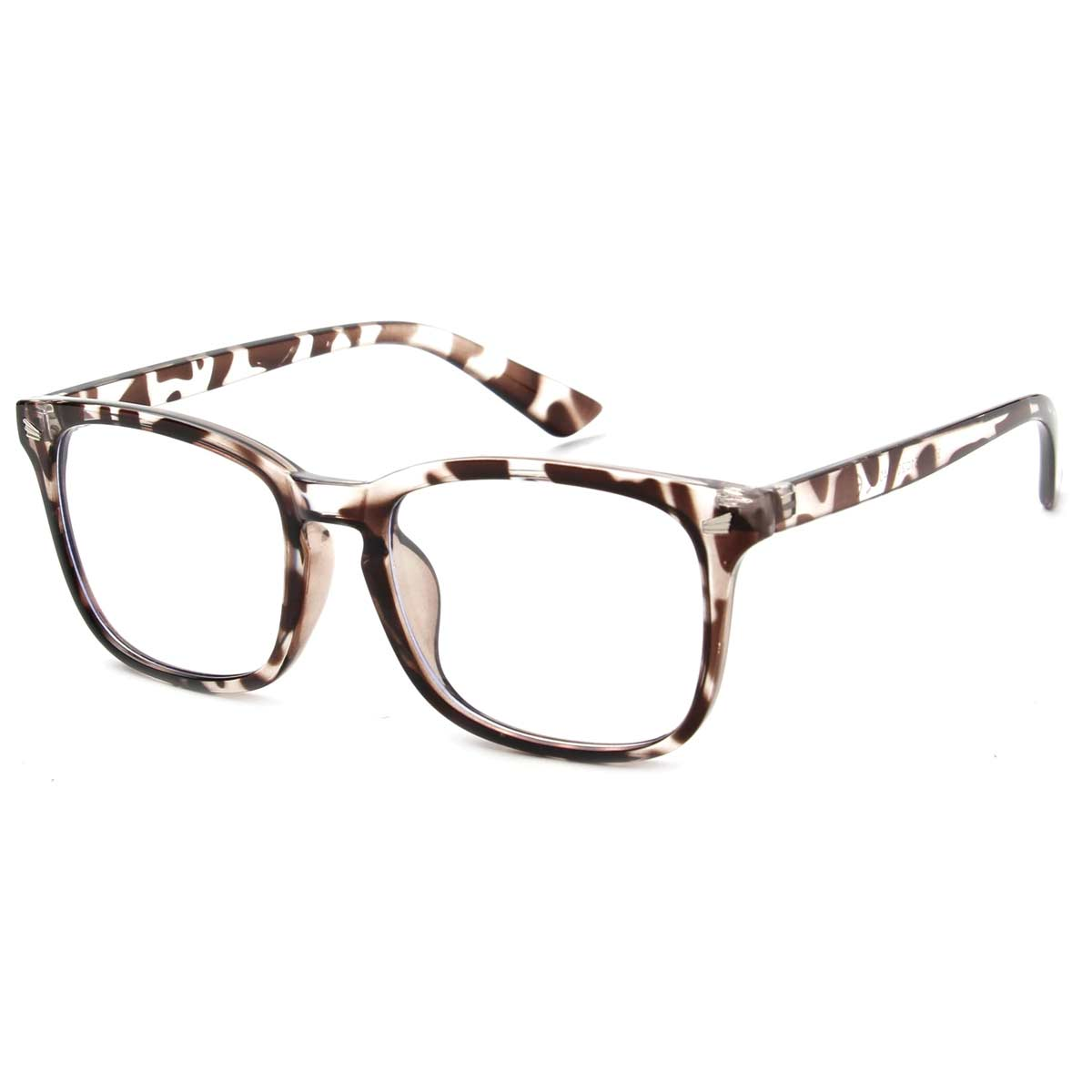 Tortoise Shell Frame Blue Light Blocking Glasses