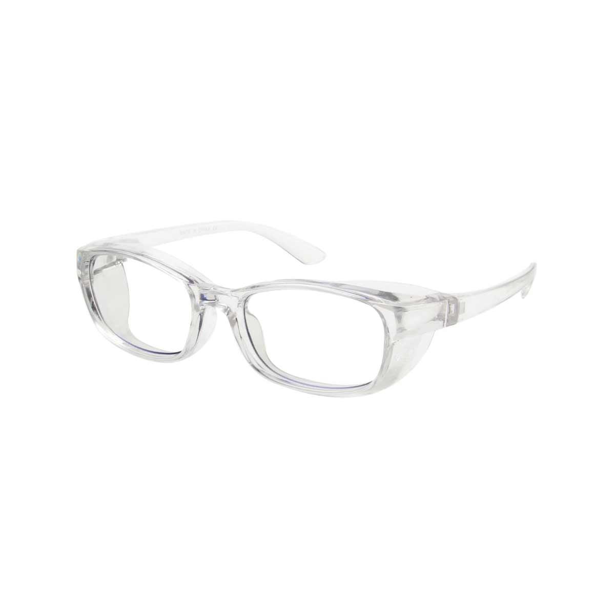 Clear Frame Side Shield Blue LIght Blocker Glasses
