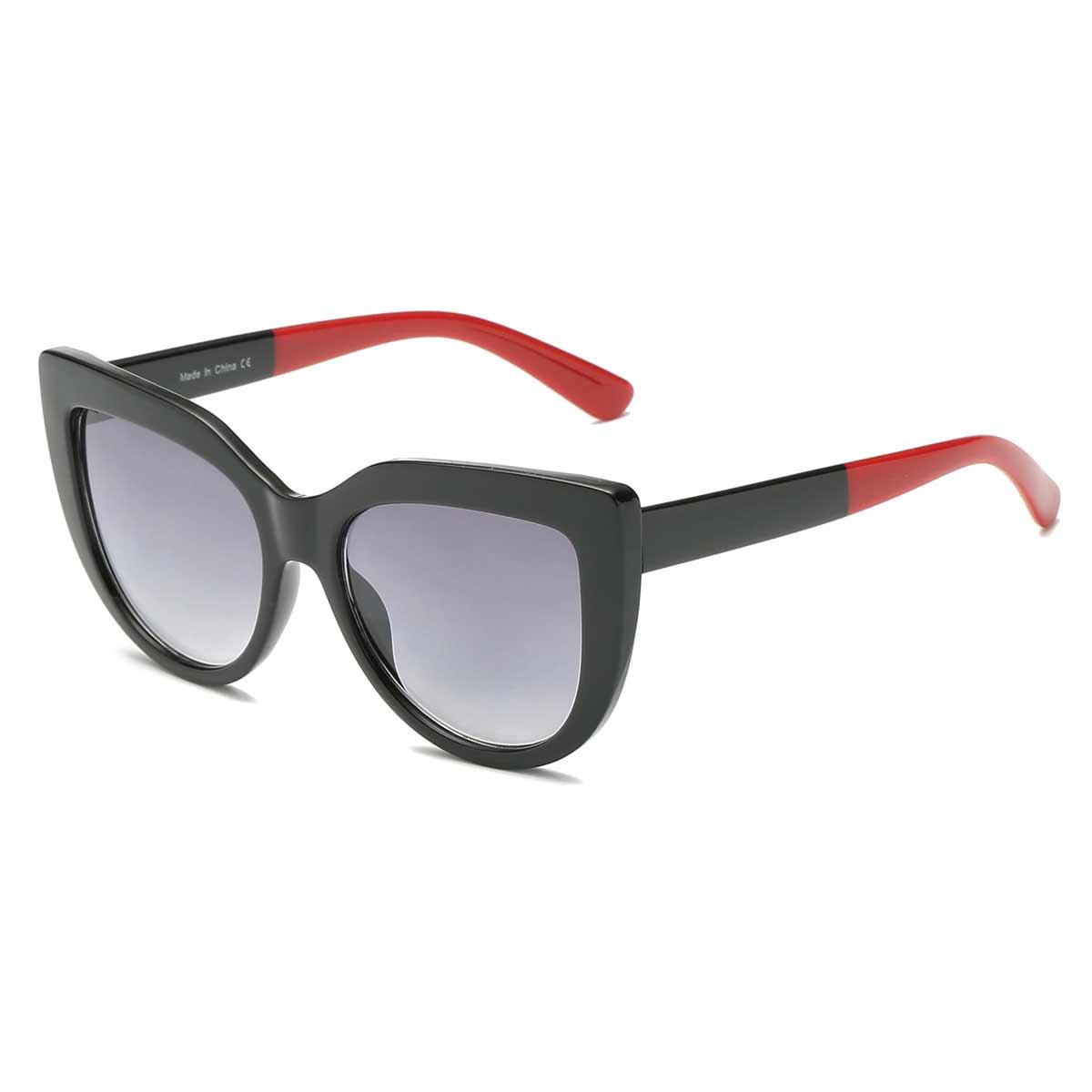 Black and Red Retro Sunglasses