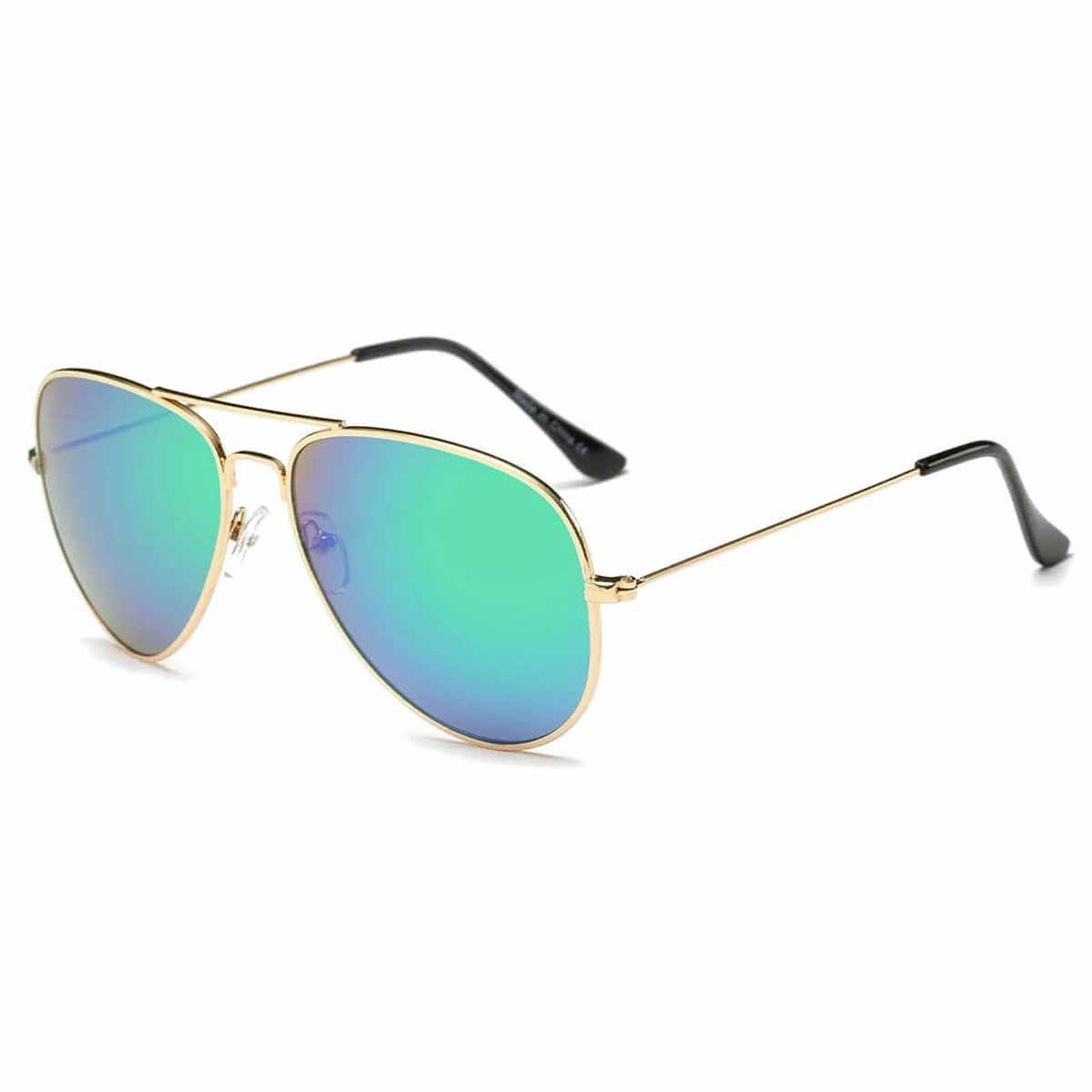 Blue Aviator Glasses