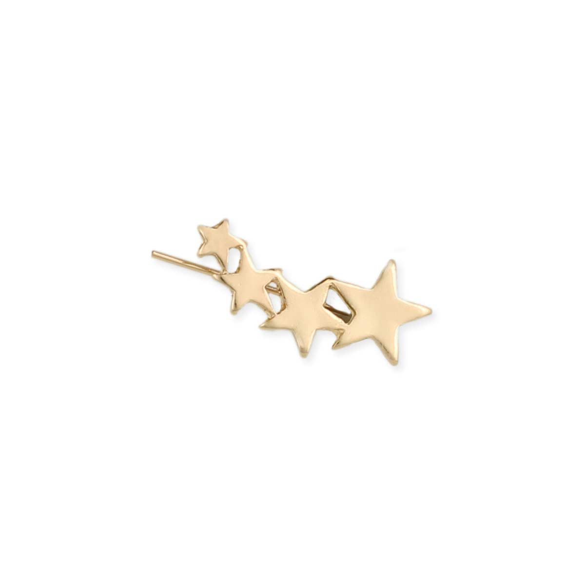 Gold Star Ear Climber
