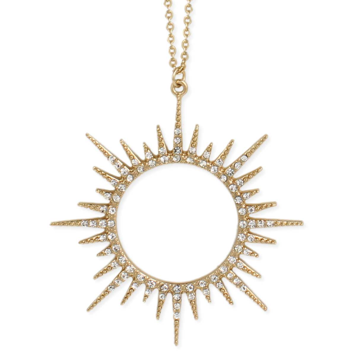 rihanna jewel pendant sunburst in seen featured as necklace new on products