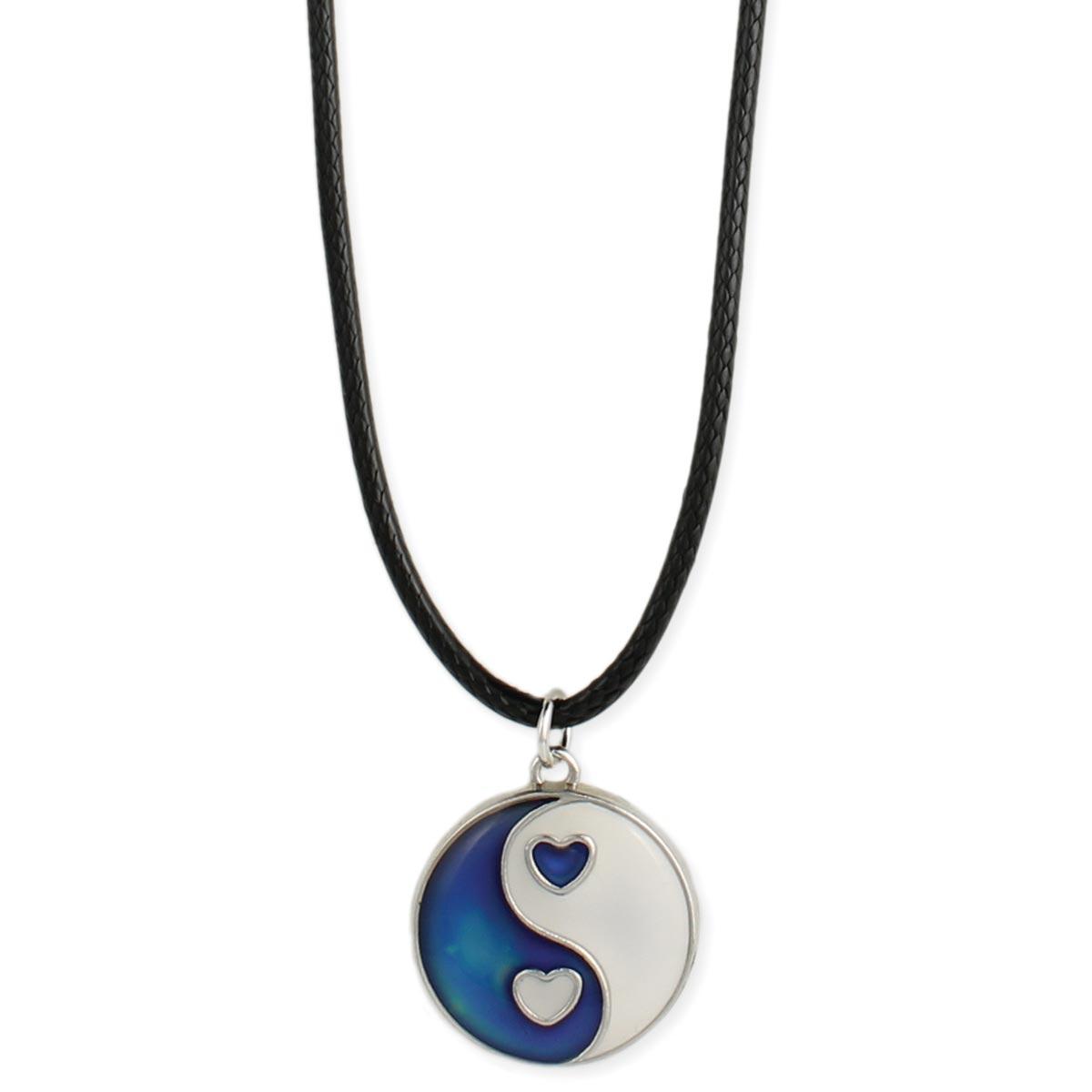 Yin yang mood necklace yin yang mood necklace view detailed images 2 aloadofball Choice Image