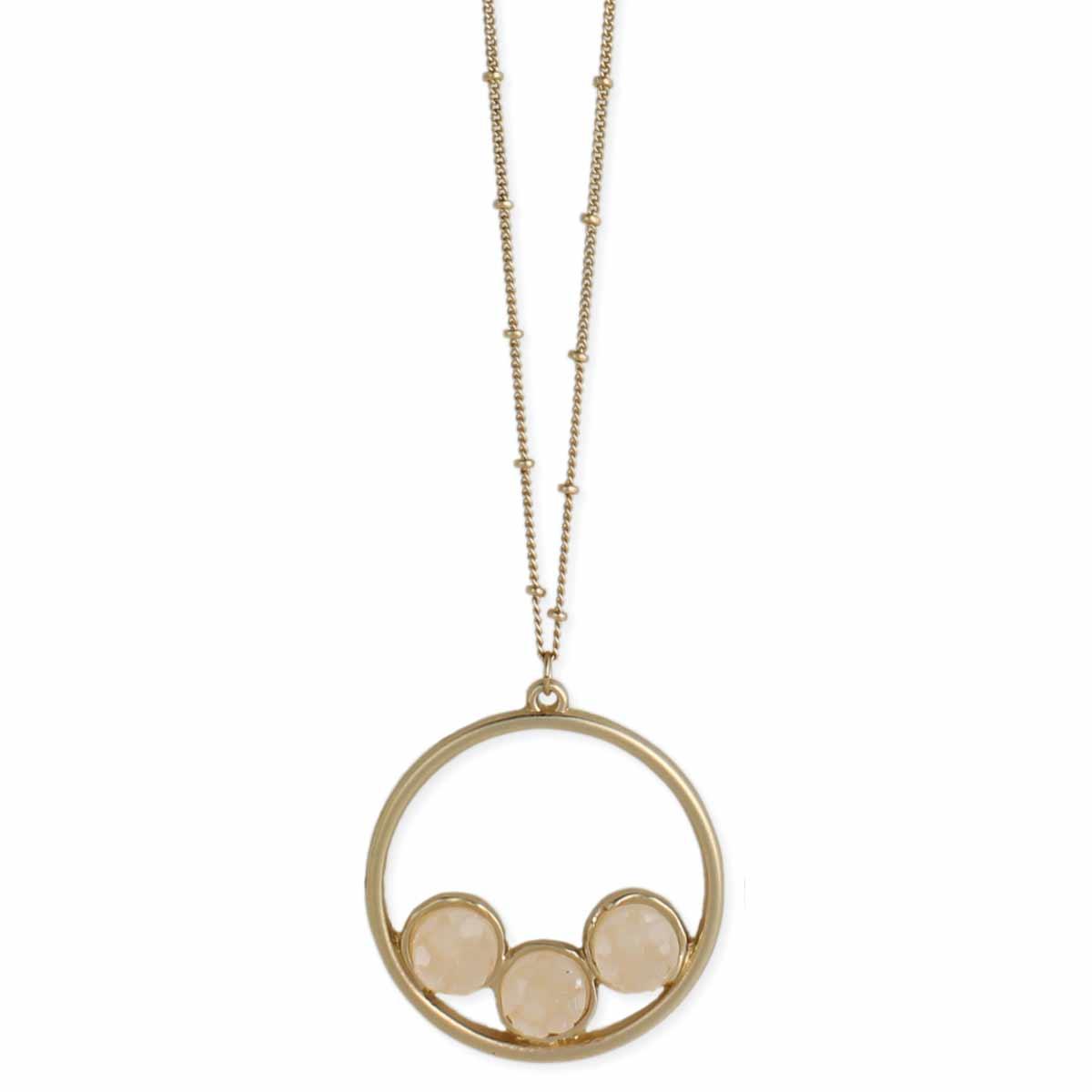 Wholesale gold long druzy pendant necklace zad fashion costume gold long druzy pendant necklace view detailed images 2 aloadofball Images