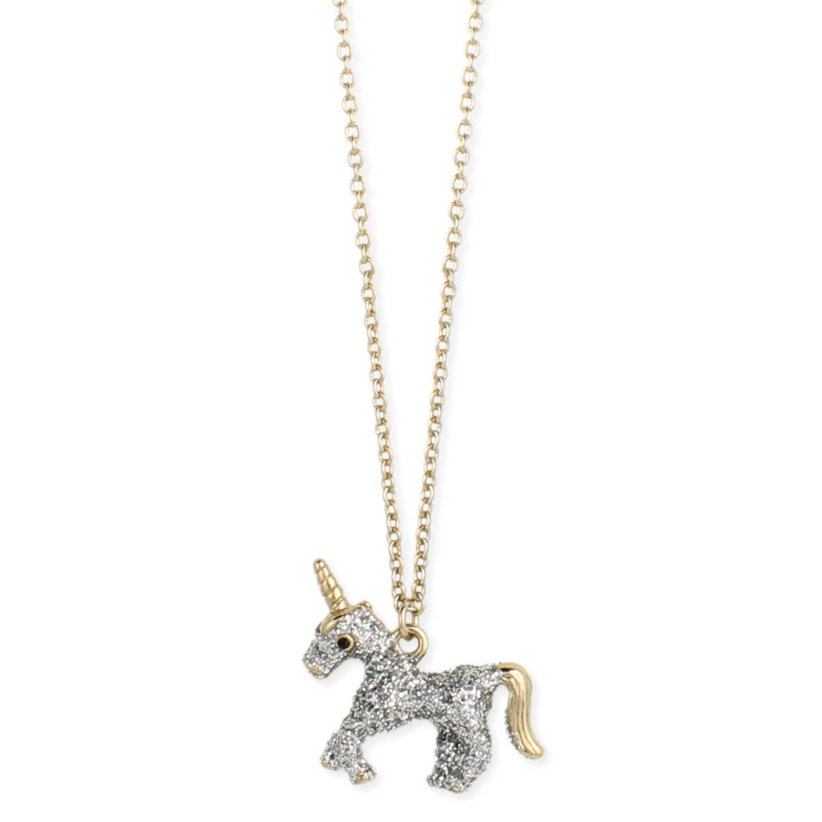 are product in magical you gold lyst gallery dogeared pendant jewelry normal necklace unicorn