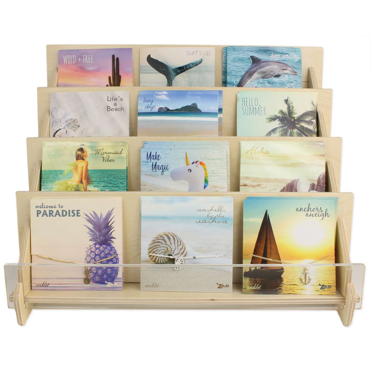 Picture Perfect Anklet Counter Display Program