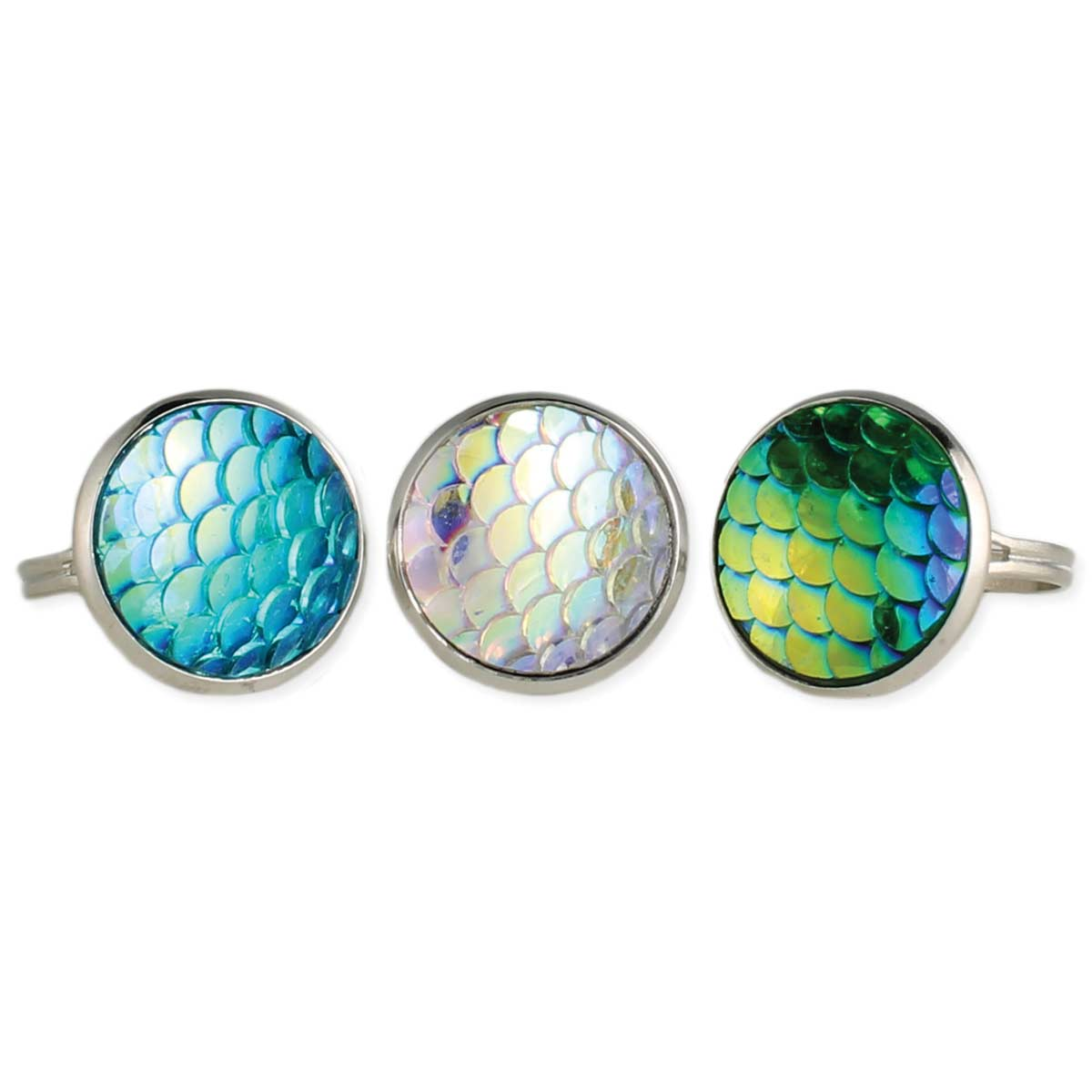 Mermaid Scales Rings