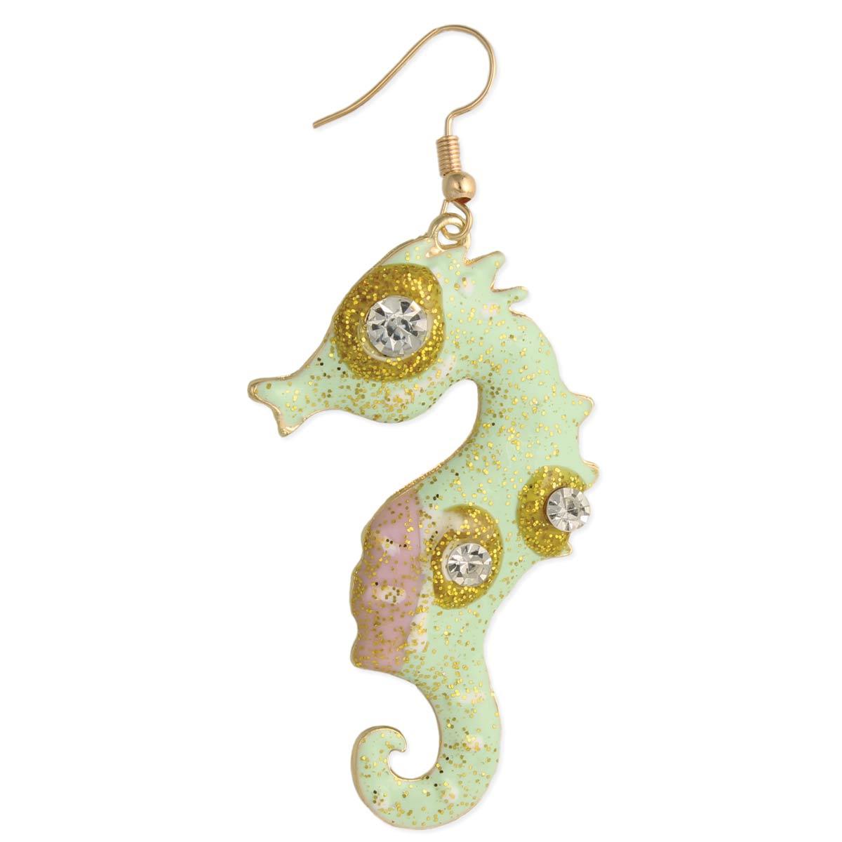 Seahorse Dangle Earring