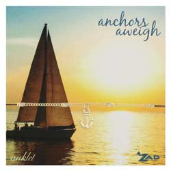 Anchor Charm & Chain Anklet