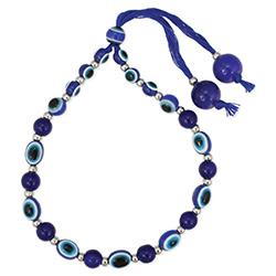Mystical Blue Eye Bead Pull Bracelet