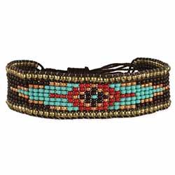 Prairie Princess Beaded Pull Bracelet