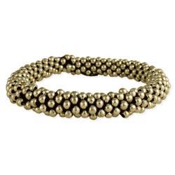 Gold Balls Stretch Bracelet & Hair Holder