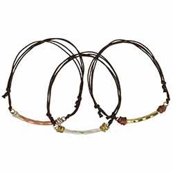 Boho Beauty Mixed Metal Pull Bracelet Set