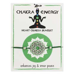 Green Heart Chakra Healing Pull Bracelet