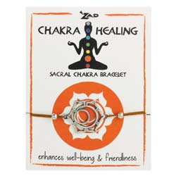 Orange Sacral Chakra Healing Pull Bracelet