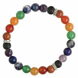 Eternal Balance Chakra Stone Stretch Bracelet