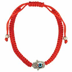 Helping Hand Red Cord Eye Pull Bracelet
