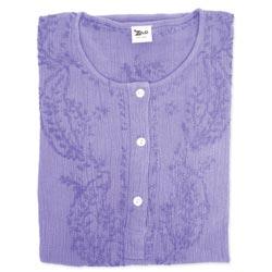 Lavender Crepe Cotton Kurta Blouse