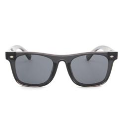 Retro Classic Black Square Lens Sunglasses