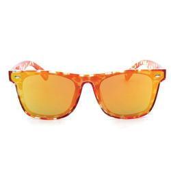 Retro Classic Tortoise Shell Square Lens Sunglasses