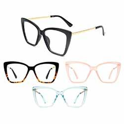 Business Casual Oversize Blue Light Glasses