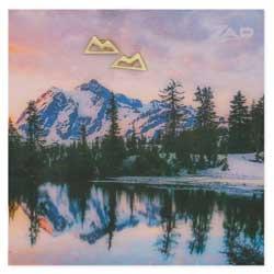 Gold Mountain Post Earring