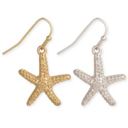 Super Star-fish Dangle Earrings