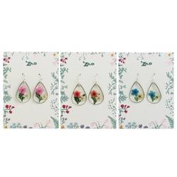 Secret Garden Pressed Flower Earrings