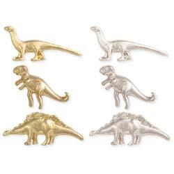 Jurassic Adventure Set of 3 Dinosaur Post Earrings