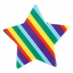 Rainbow Brights Star Hair Clip