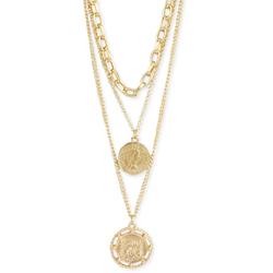 Pirate Treasure Gold Chain & Coin Layer Necklace