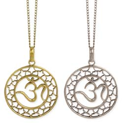 No Place Like Om Pendant Necklace
