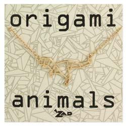 Origami Animals Dinosaur Necklace