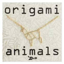 Origami Animals Llama Necklace