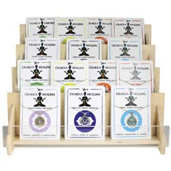 Chakra Healing Necklace & Bracelet Program - Counter Display - 54 pcs
