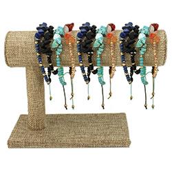 Stone Chip Pull Bracelets Display