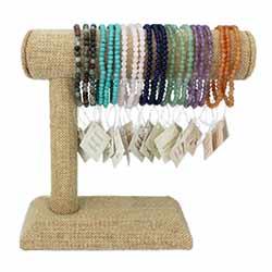 Stone Stretch Bracelet Small Display