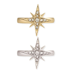 Twinkling Star Crystal Ring