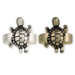 Turtley Awesome Metal Turtle Rings