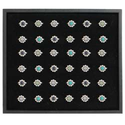 Stone Flower Ring Program - 36 pcs